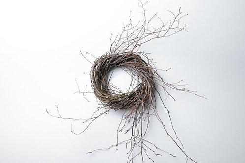 """9"""" Birch/Huckleberry Wreath"""