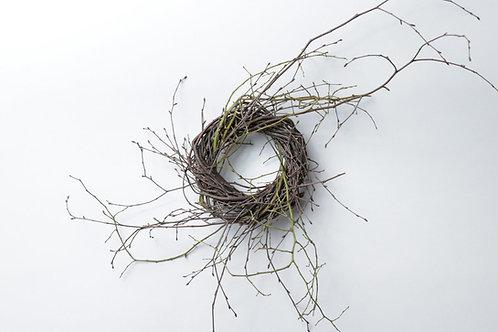 """4"""" Birch/Huckleberry Wreath"""