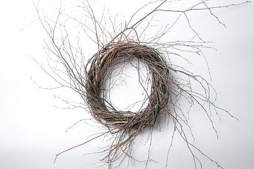 """18"""" Birch/Huckleberry Wreath"""