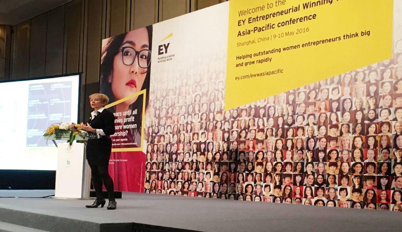 Entrepreneurial Wining Woman
