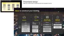 Presetation design