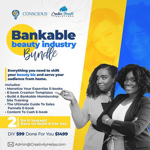 Bankable Beauty Industry Bundle