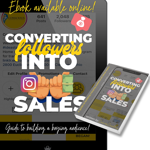 Converting Followers into Sales!
