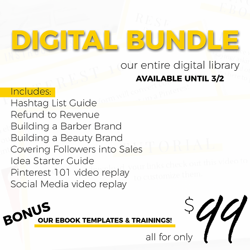 Digital Bundle Sale!