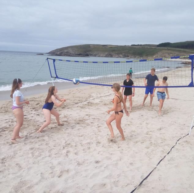 Exchange Camp Beach Volleyball 4 Element