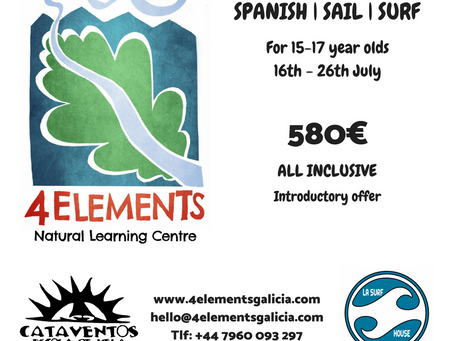 New Up! Spanish and Watersports Camp