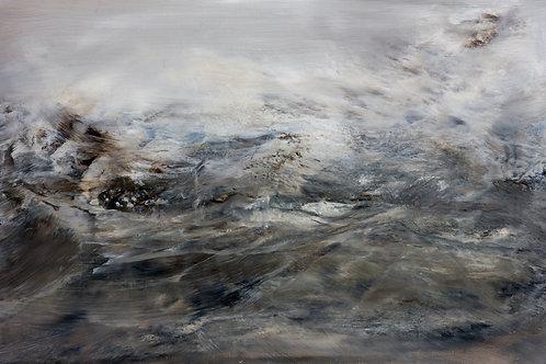 """""""Stormy Seas""""  Original Oil Painting"""