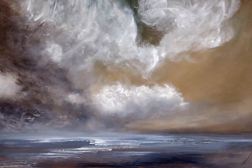 Cloud Study I  ORIGINAL OIL PAINTING
