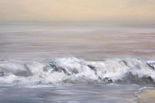 """Shorebreak""  Original Oil Painting"