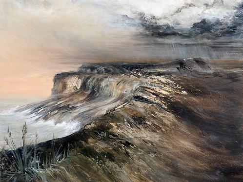 """Storm Cloud""  Original Oil Painting"