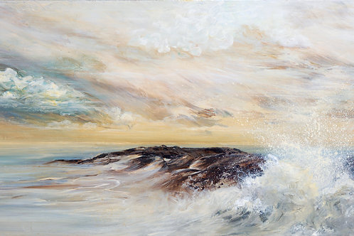 """Seascape I""  Original Oil Painting"