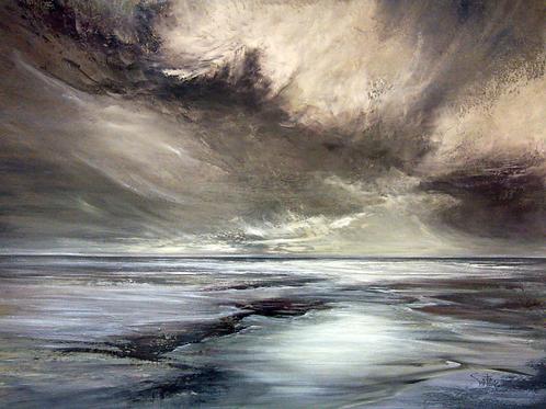STORM CLOUDS III  Original Oil Painting