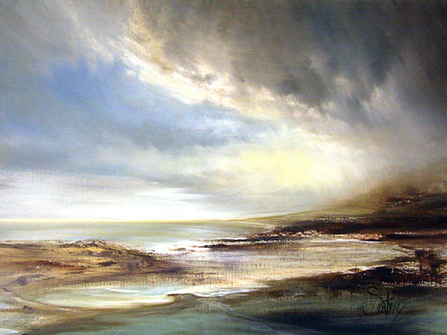 CLOUDY BAY  Original Oil Painting