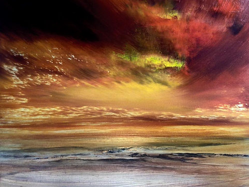 """Where the Sky Meets the Sea"""