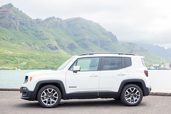 2018 Jeep Renegade Limited Kuaui Rental Cars