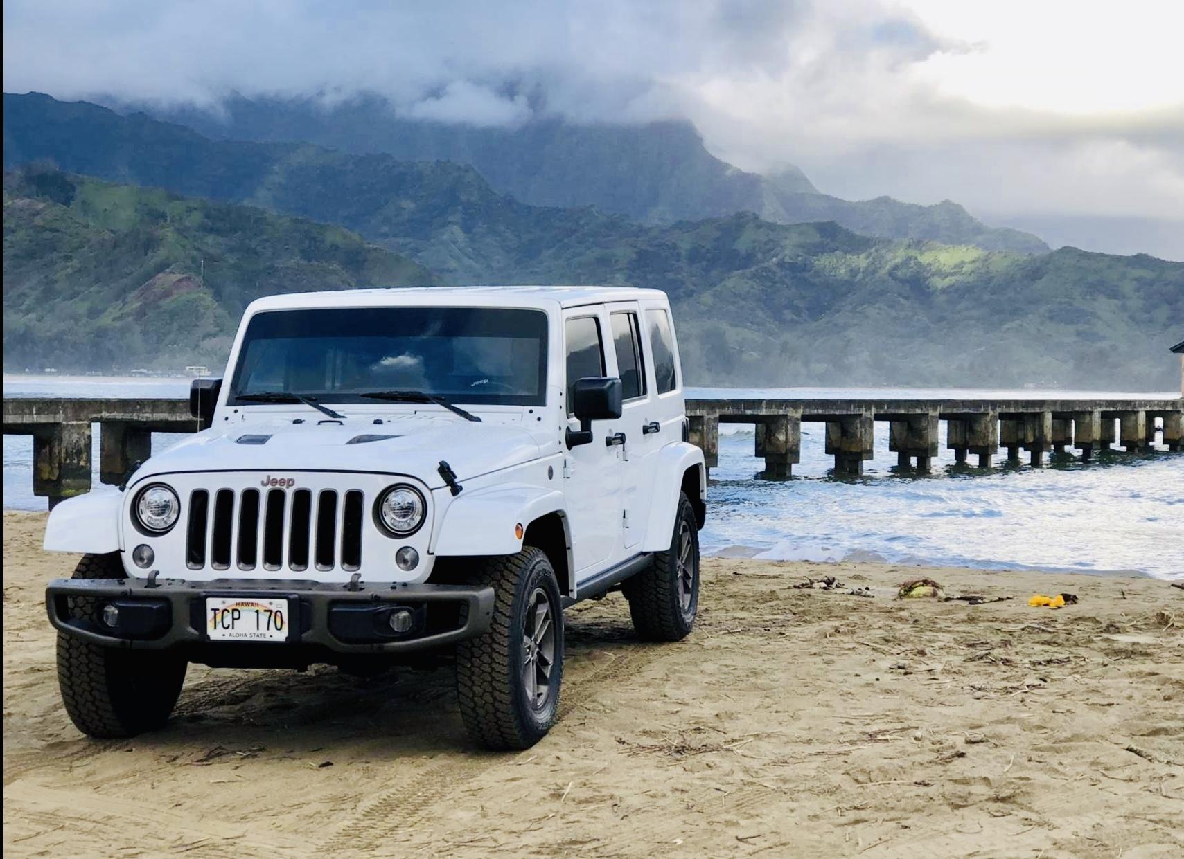 Kauai Rental Cars Lihue Rental Cars Jeeps Wranglers