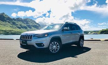 2018 Jeep Cherokee Limited Kuaui Rental Cars