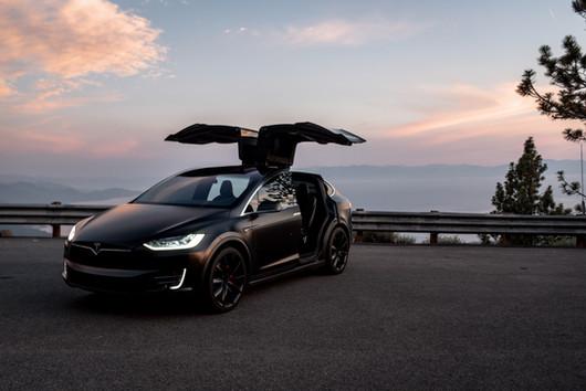Tesla Model X Satin Black