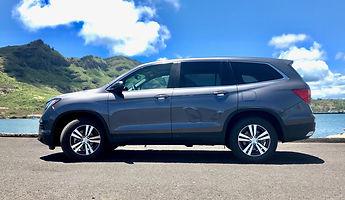 Kauai Rental Car 8 Passenger SUV Honda Pilot