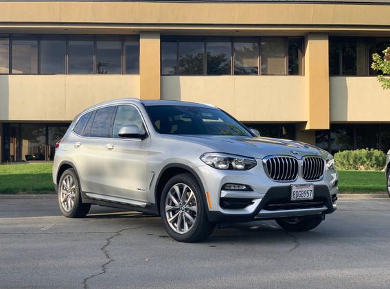 2018 BMW X3 XDrive AWD