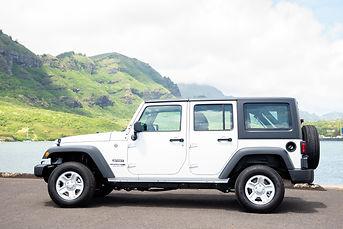 2018 Jeep Wrangler Unlimited Kuaui Rental Cars
