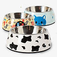 Pet-Bowls-Single-Feeding-Bowl-with-Stain
