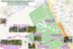 Walking Path from Dongnimmun Station to start of Ansan Jarak-gil Trail | KoreaToDo