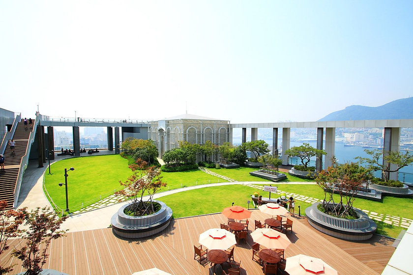 Lotte Department Store - Rooftop Park & Getting There | Busan, South Korea