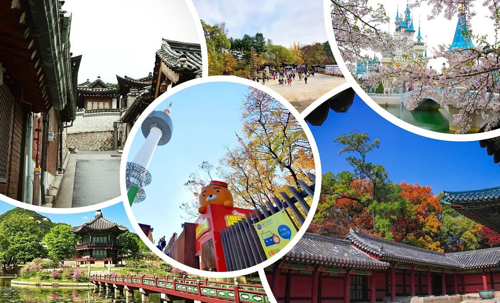 Top 10 Most Popular Korean Attractions by Korean Tourism Organization & Getting There | KoreaToDo