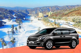 Oak Valley Ski Resort Transfer (from/to Seoul & Incheon/Gimpo Airport) 24/7