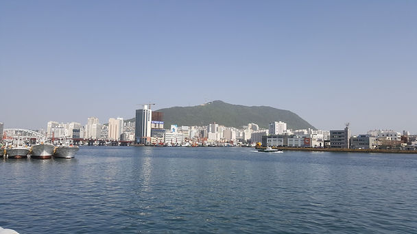 Jagalchi Fish Market - View from Fish Market & Getting There | Busan, South Korea
