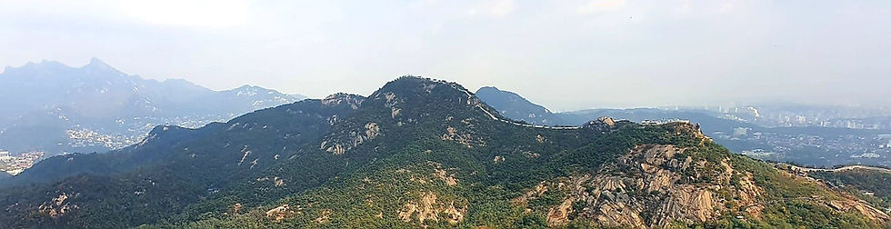 Inwangsan Mountain - View from Ansan Mountain | KoreaToDo