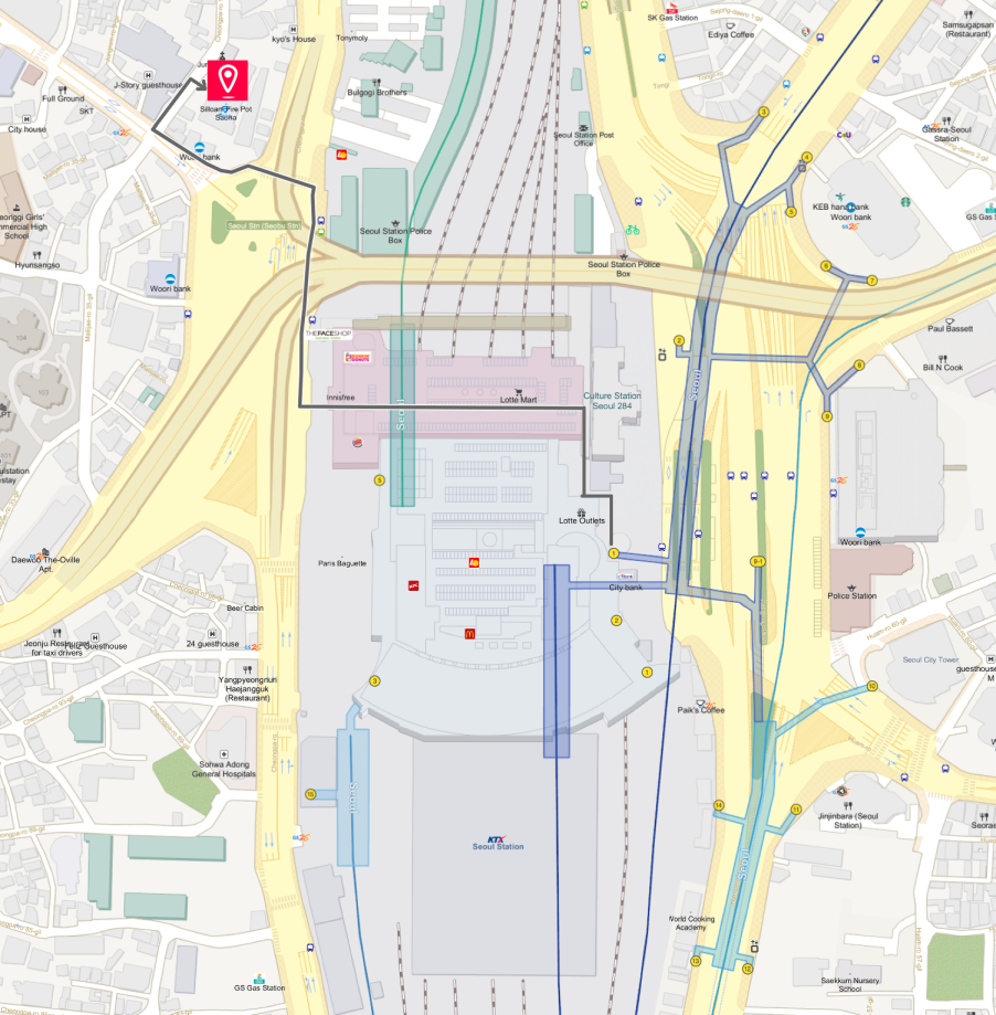 Getting to Siloam Sauna Jjimjilbang & Location Map | Seoul, South Korea