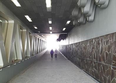 Underpass to Jamwon Hangang Park | Seoul, South Korea