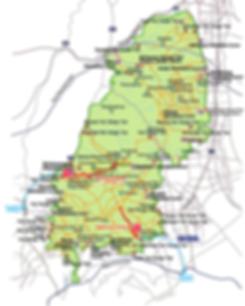 Getting to Bukhansan National Park & Map of Hiking Courses   Seoul, South Korea