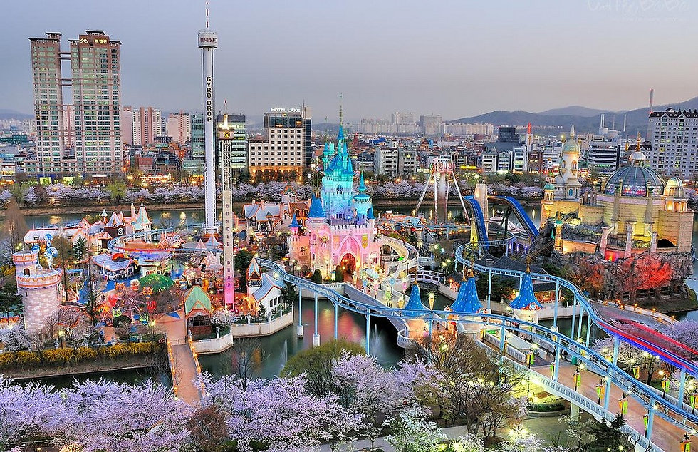 Lotte World & getting there | Seoul, South Korea