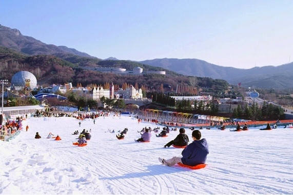 Seoul Land Sledding Hills