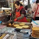 Gwangjang Market - Bindaetteok (Mung Bea