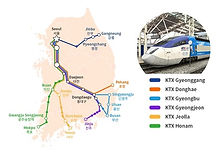 ​​Korea Rail Pass (KR PASS): bullet trains to Busan & other areas