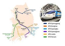 Korea Rail Pass (KR PASS): bullet trains to Busan & other areas