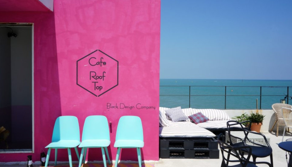 Cafe Rooftop Cheongsapo in Busan & Getting There | Busan, South Korea