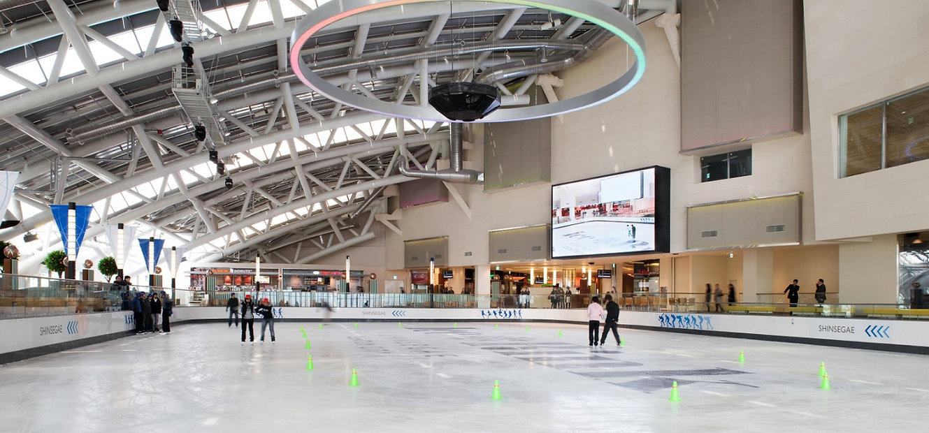 Shinsegae Centum City Ice Rink & getting there | Busan, South Korea