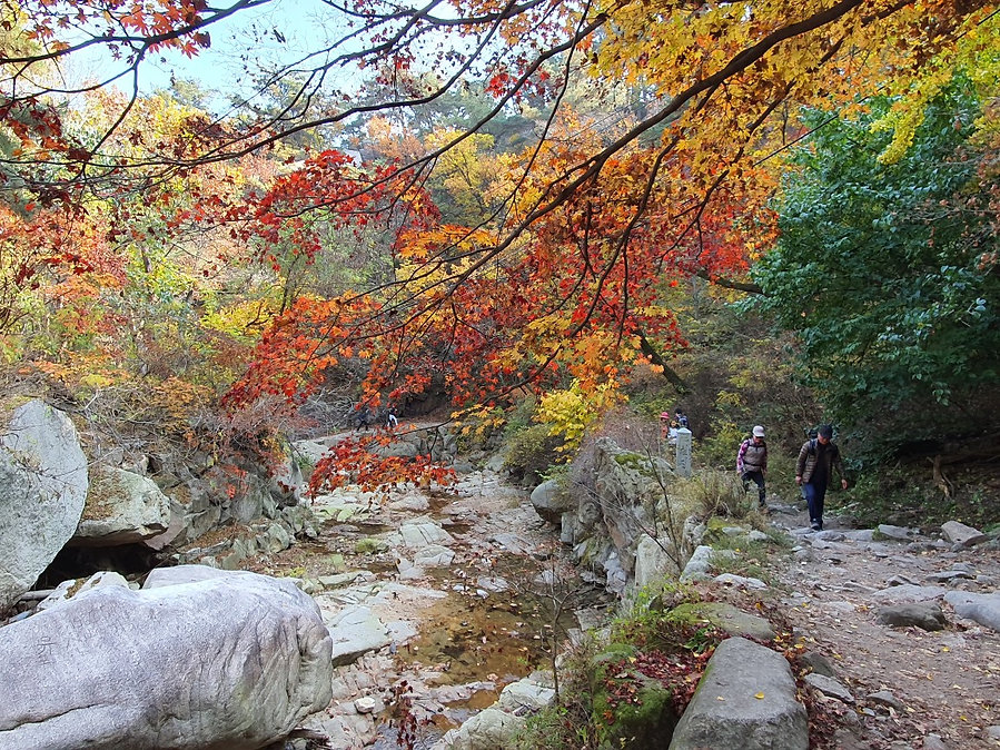 Bukhansan National Park & Getting There | Seoul, South Korea