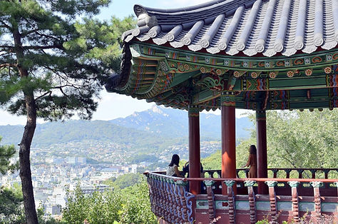 Naksan Park & Getting There   Seoul, South Korea