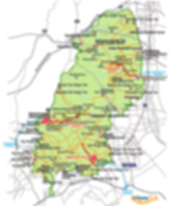 Bukhansan National Park - Location Map