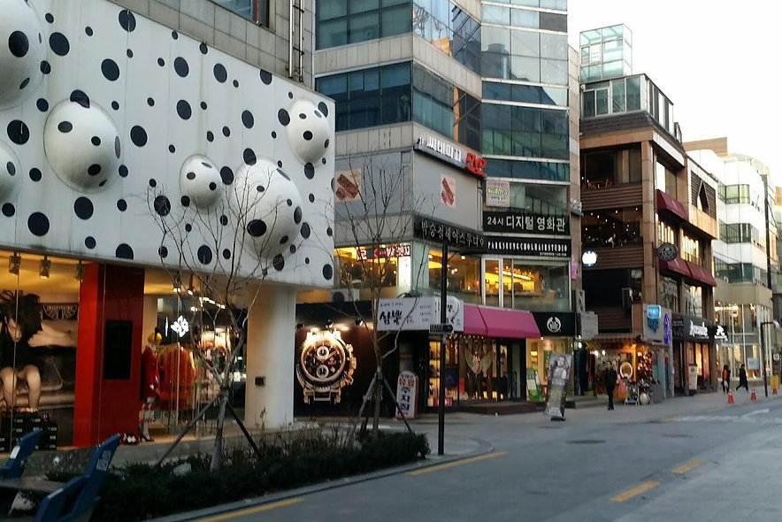 Apgujeong Rodeo Street & Getting There | Seoul, South Korea