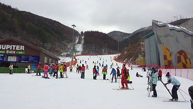 High1 Resort - Outside Mountain Ski House | South Korea
