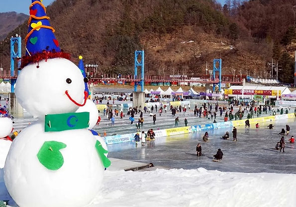 Hwacheon Sancheoneo Ice Festival 2021