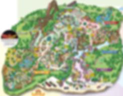 Tourist Map of Everland   South Korea