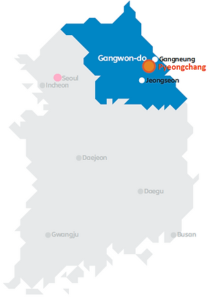Daegwallyeong Sheep Farm - Map of Pyeongchang in Korea | KoreaToDo